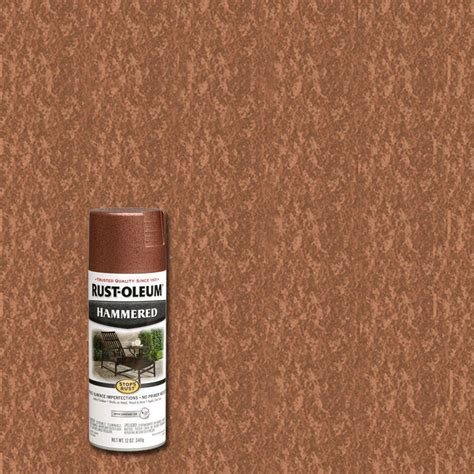 rust oleum stops rust 12 oz protective enamel textured sandstone spray paint 7223830 the home