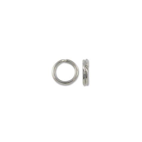 how to make split rings for jewelry split ring 6mm silver color jewelry split rings