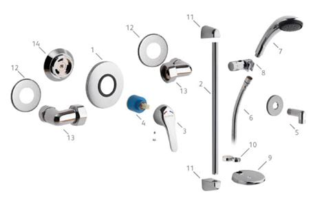 gainsborough gs100 spares buy shower parts