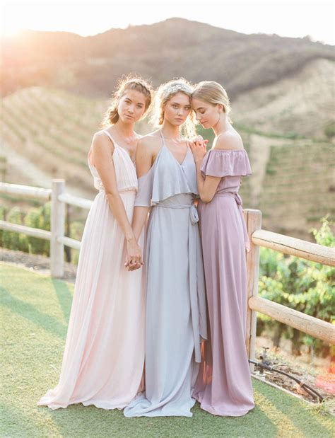 Dress Joanna quot the new quot bridesmaid dresses by joanna august