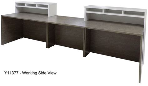two person reception desk contrasts custom 2 person reception desk 16 w desk