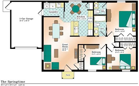 efficient floor plans most economical house plans