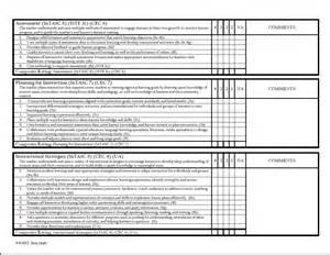 Education Evaluator by Student Evaluation Form College Of Education