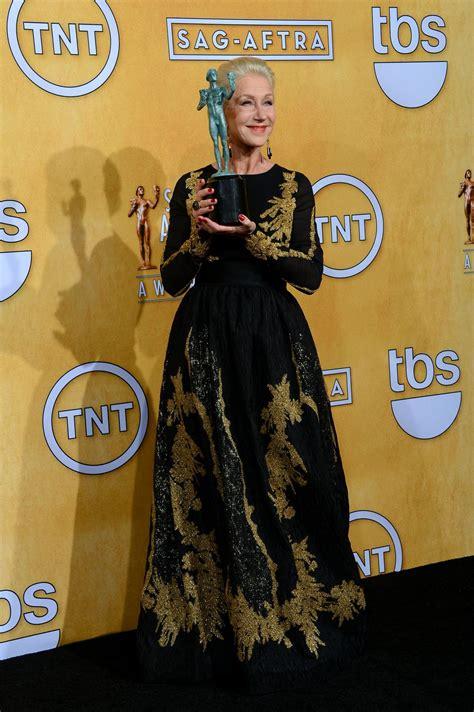 Helen Mirren Has At Sag Awards by Helen Mirren At 2014 Sag Awards In Los Angeles Hawtcelebs
