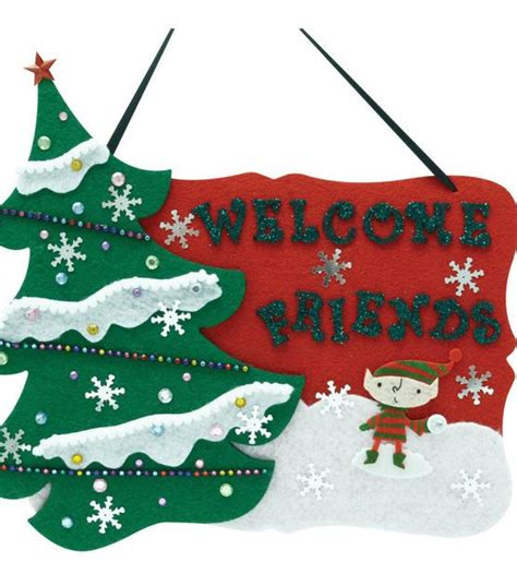 welcome holiday guests with this cute sign