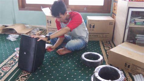 Speaker Zs F2000bm aplikasi toa wall speaker zs f2000bm dan zh 5025bm di masjid al muizzu depok
