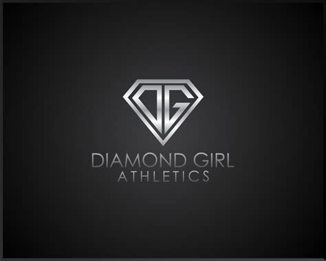 design logo diamond logo design for diamond girl athletics freelancer