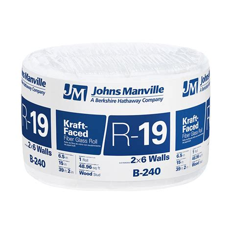comfort therm insulation owens corning r 13 kraft faced insulation roll 15 in x 32