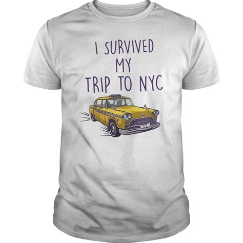 i survived my trip to nyc shirt spider homecoming