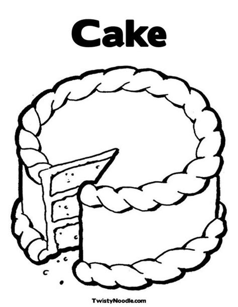 coloring pages of a piece of cake cake coloring pages image search results