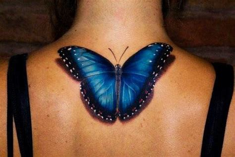 blue butterfly tattoo 15 3d butterfly designs you may