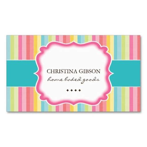 cookie business card template 17 best images about colorful business cards on