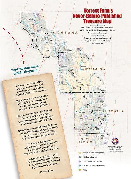 fenn treasure map looking for treasure start here