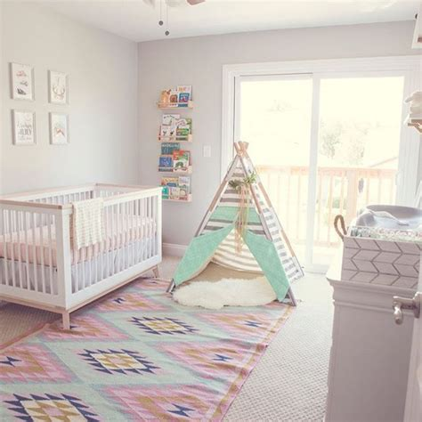 741 Best Images About Nursery Decor On Pinterest Modern Bohemian Nursery Decor