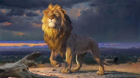 simba  lion king     wallpaper