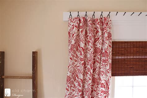 alternative to nails for hanging 25 creative diy curtain rod tutorials remodelaholic