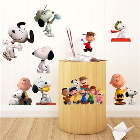 snoopy wall stickers buy wholesale snoopy wall decal from china snoopy