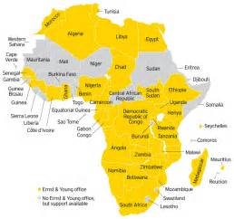 Modern Map Of Africa by Map Africa 2012