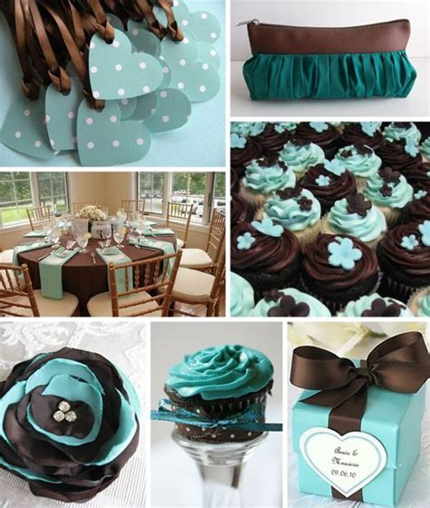 teal and chocolate combination together is gorgeous