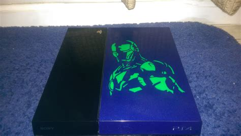 Decided To Paint My Ps4 What Do You Think Gaming