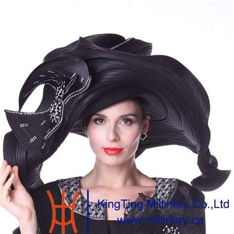 design clothes and hats kueeni women hats church hats exaggeration designer