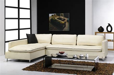contemporary style furniture italian leather upholstery modern sectional sofas miami