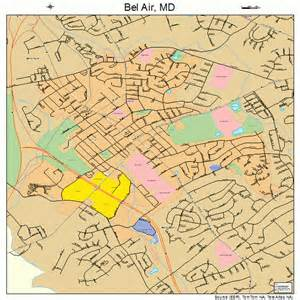 where is bel air md bel air maryland map 2405550