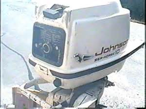 1959 johnson 10 hp qd 20 test run youtube