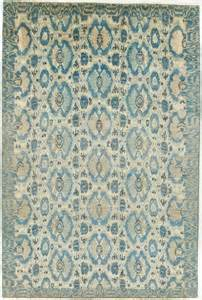blue ikat rug modern ikat rug with border blue and 6x8 9