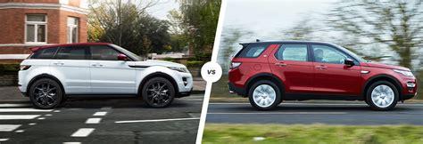 range rover sport vs range rover evoque discovery sport 2015 vs range rover evoque