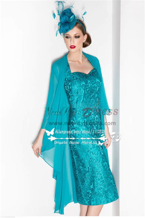 Dress With Outer gray lace two picec of the dress with chiffon outer for the wedding cms 095
