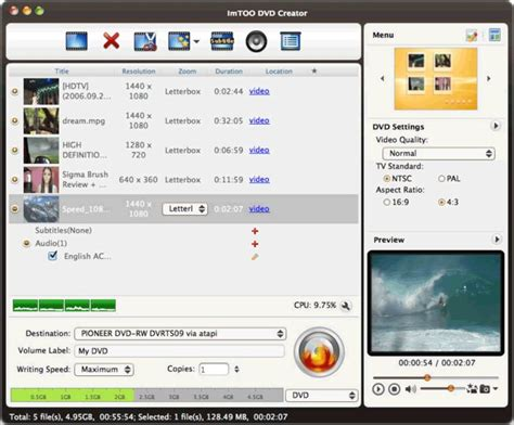 Format Dvd Rw Mac Os X | download imtoo dvd creator for mac os x ppc v3 1 19 0814