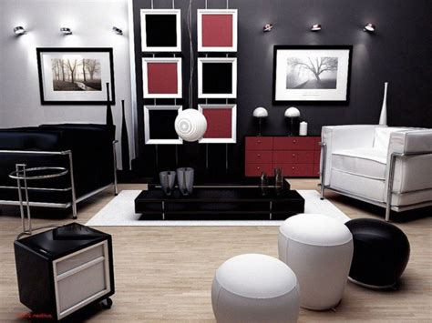 red black and white room living room contemporary red black and white living room