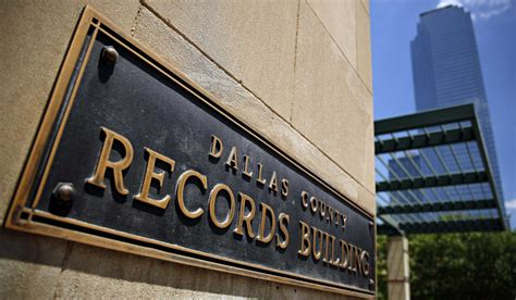 Dallas Records The Dallas County Records Complex Where Ruby Was Once Jailed Holds 100 Years Of