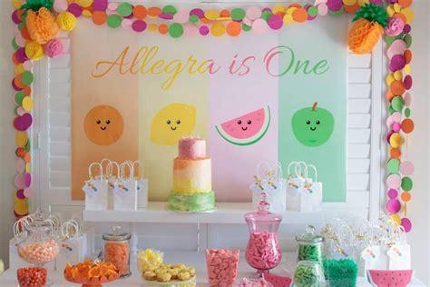 decoraci 243 n de fiestas adornos y complementos de decoraci n para fiestas de de tutti frutti para ni 241 os
