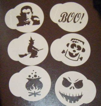 printable halloween stencils for cupcakes cake and face painting stencils