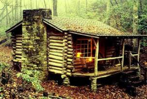 log cabin in the woods homes i