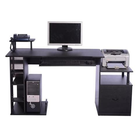achat pc bureau bureau avec rangement imprimante meilleures images d