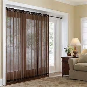 Patio Door Curtains And Blinds » Home Design 2017