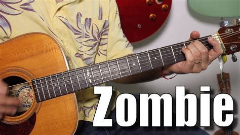 tutorial guitar zombie the cranberries zombie super easy beginner song guitar