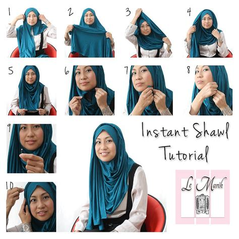 tutorial hijab pashmina corak tutorial hijab turban layer hijabs tutorials hijabs