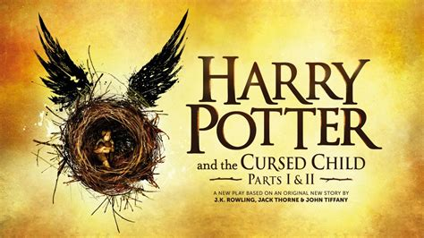 Ori Harry Potter And The Cursed Child Part One And Two Playscript official harry potter and the cursed child artwork revealed