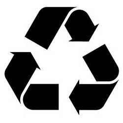 recycle sign template recycle sign stencil sp stencils