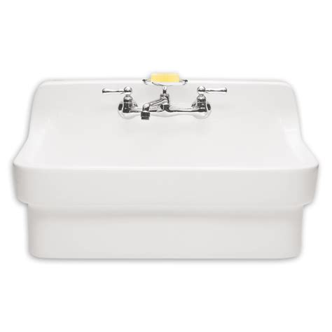 wall hung utility sink 10 easy pieces wall mount utility sinks gardenista