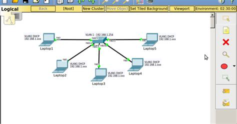 Makalah Tutorial Cisco Packet Tracer | simulasi konfigurasi dhcp switch pada cisco packet tracer