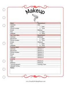 Nail Salon Sign In Sheet Template by 1000 Images About Wedding Binder On Wedding