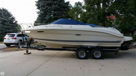 sea ray 225 weekender boats for sale 2003 used sea ray 225 weekender express cruiser boat for