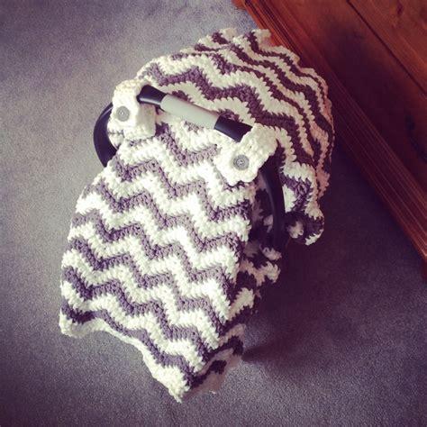 pattern crochet lshade crochet pattern for chunky chevron car seat canopy cover