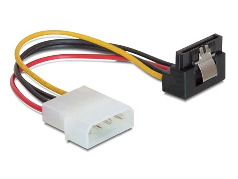 wandlen ohne kabel akku delock power sata hdd kabel mit metallclip gt 4pin stecker