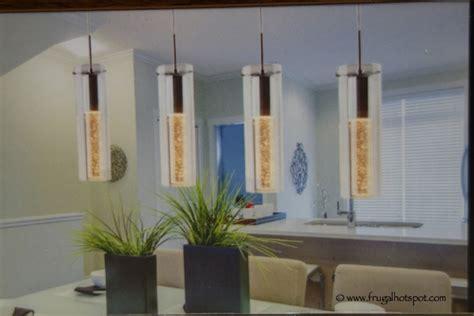 artika chagne glow indoor 4 pendant light costco
